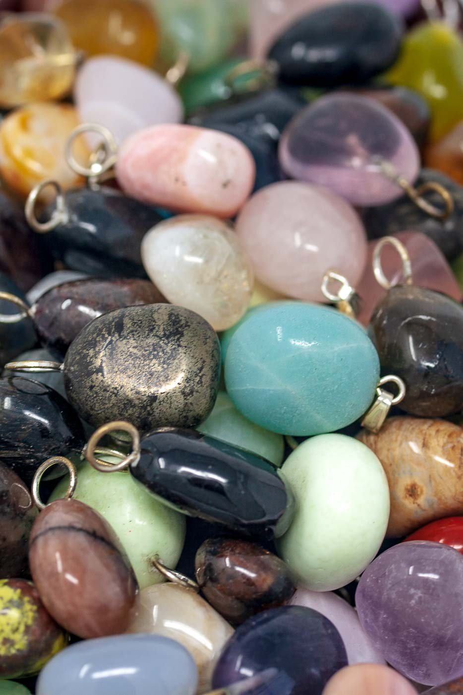 Simple Gemstone Pendants